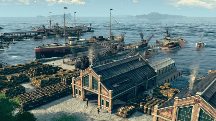 Anno 1800 zostało zapowiedziane podczas Gamescom 2017 2