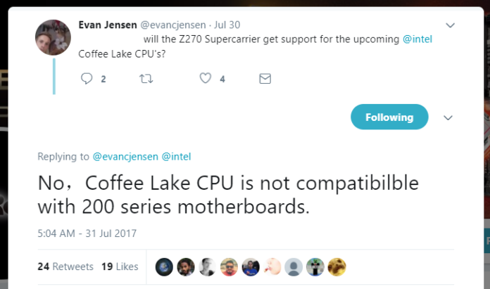 Coffee Lake - ASRock news