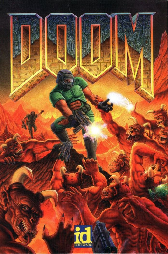 DOOM - DOS cover