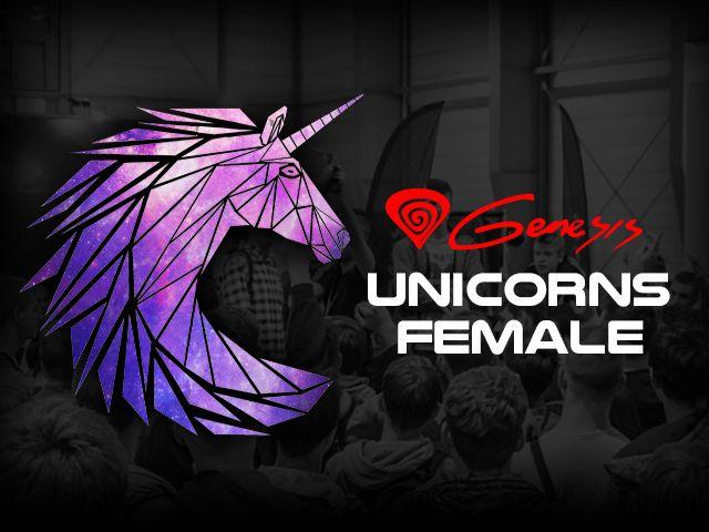 Genesis wspiera drużynę dziewczyn Unicorns Female 1