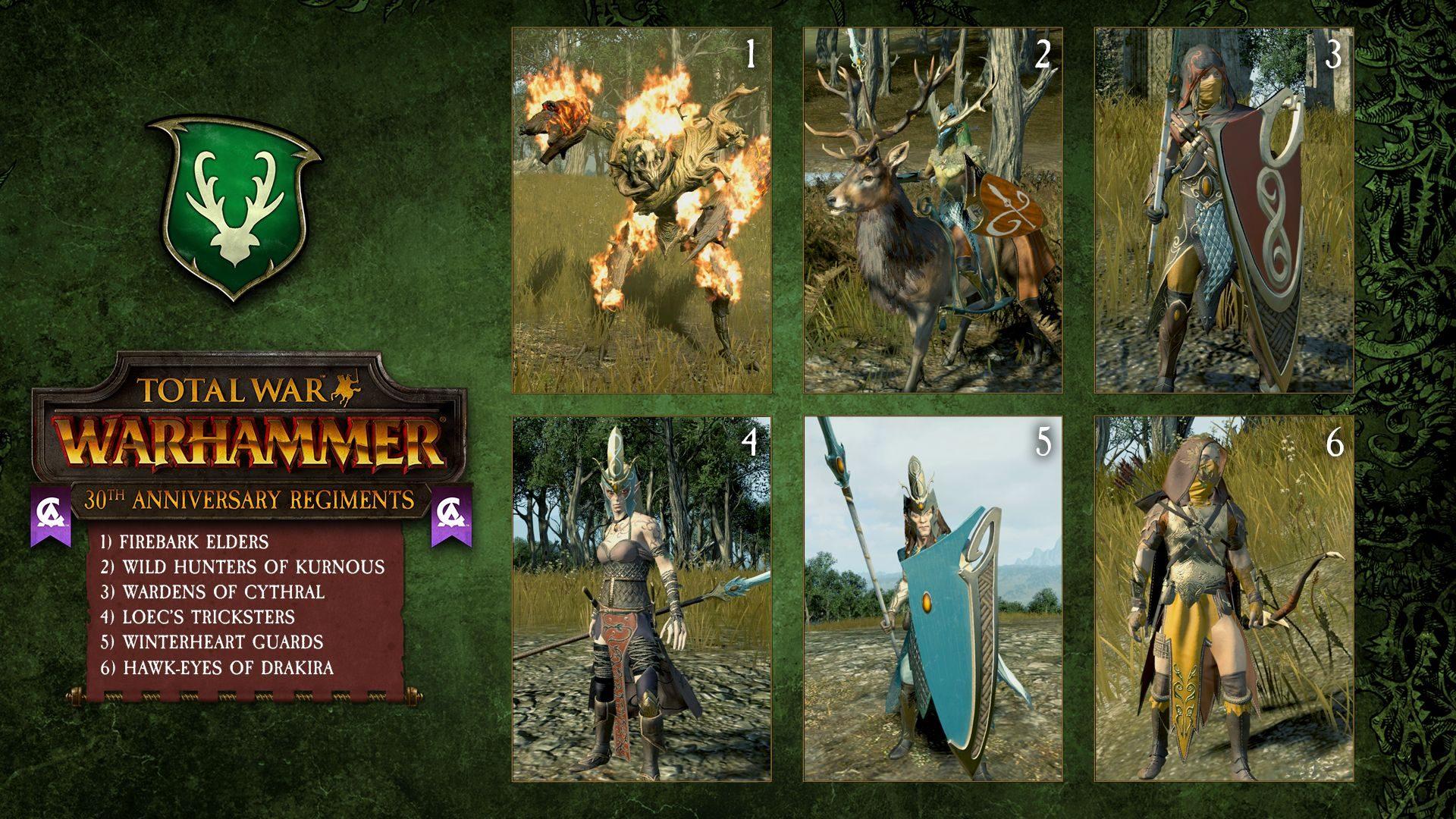 Total War: Warhammer-Regiments of Renown