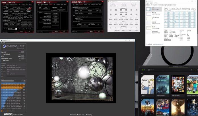 Intel Core i9-7980XE - cinebench
