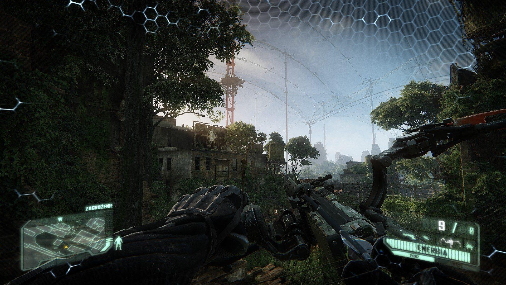 Crysis 3 - ciężki pancerz