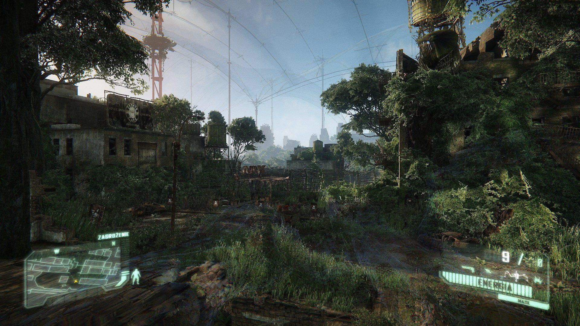 Crysis 3 - maskowanie