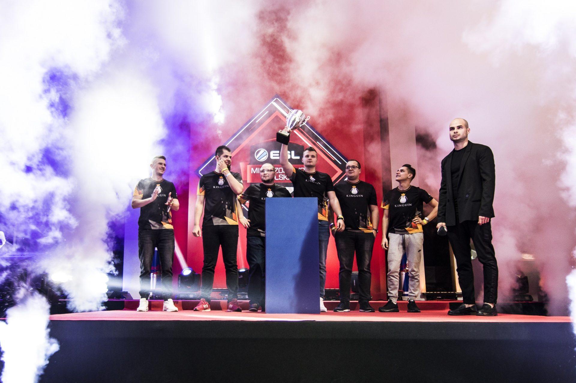 15. sezonu ESL Mistrzostwa Polski 2017 - Team Kinguin