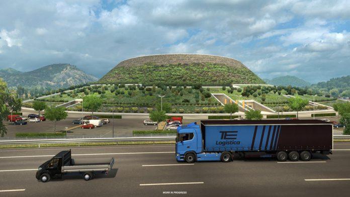 Euro Truck Simulator 2 - dodatek Italia i sieć dróg