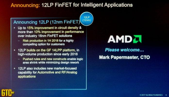 AMD ma w planach 12nm LP proces technologiczny 1