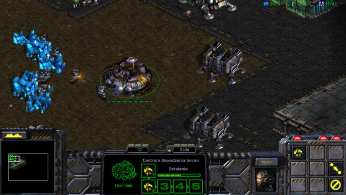 Starcraft Remastered - terranie