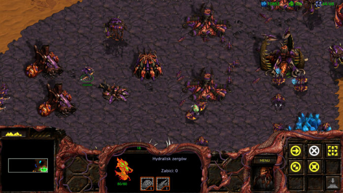 Starcraft Remastered - zergowie