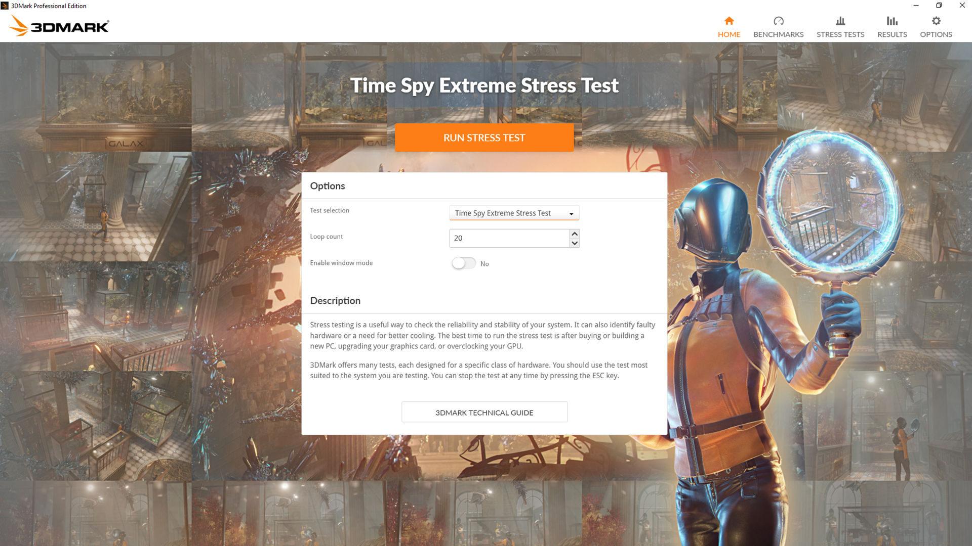 3DMark Time Spy Extreme