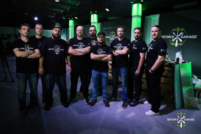 GeForce Garage z Polską, Rumunią i Czechami