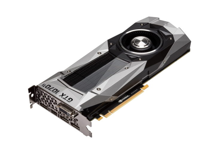 NVIDA GeForce GTX 1070 Ti