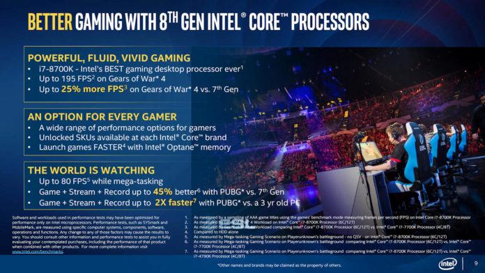 Intel Coffee Lake - premiera desktopowych procesorów 8 generacji 1
