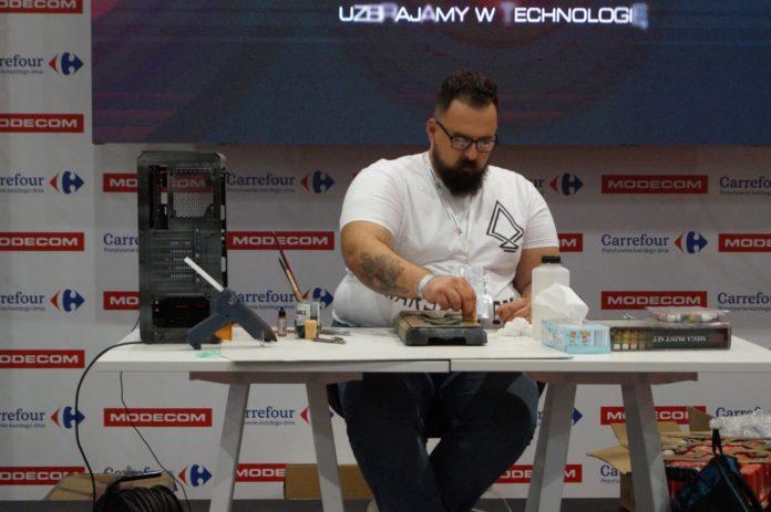 Poznań Game Arena 2017 - Modecom i Carrefour