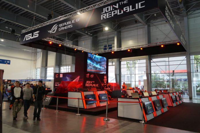 Poznań Game Arena 2017 - ASUS
