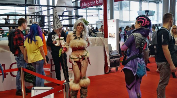 Poznań Game Arena 2017 – cosplay