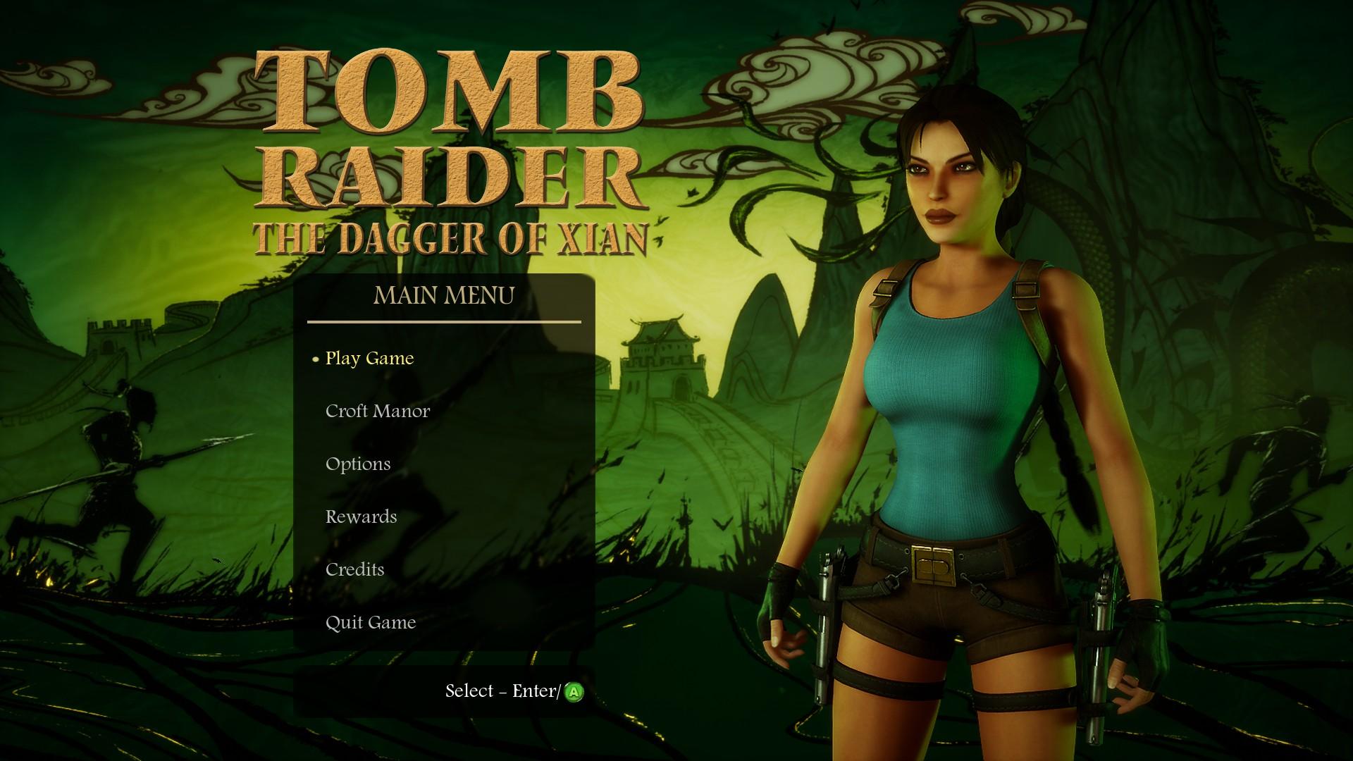 Tomb Raider 2 - Dagger of the Xian