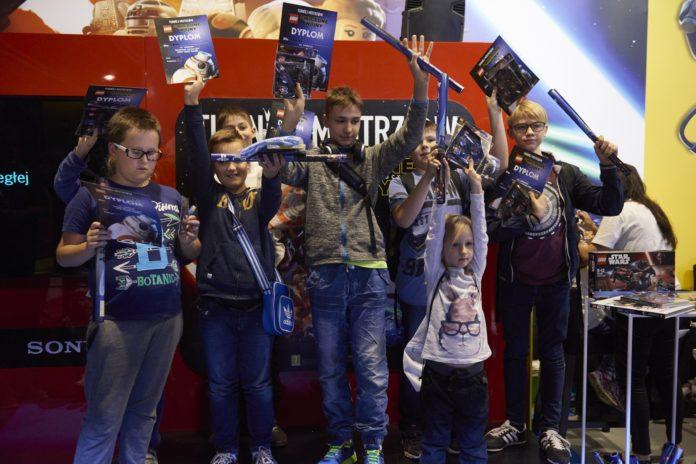Warsaw Games Week 2017 - strefa junior dla najmłodszych
