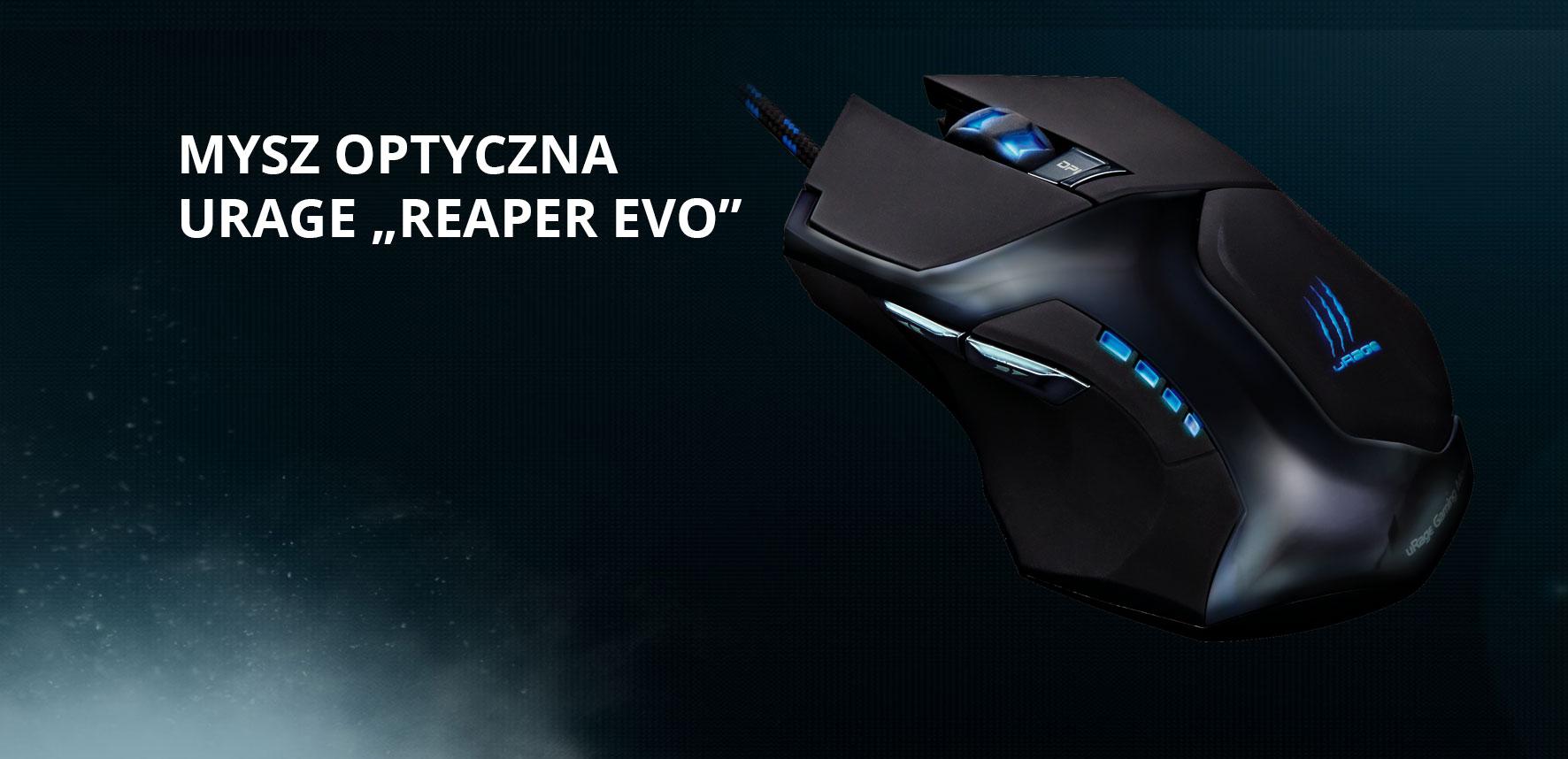 Hama uRage Reaper evo - dobry średniak, czy jednak dla graczy? 1