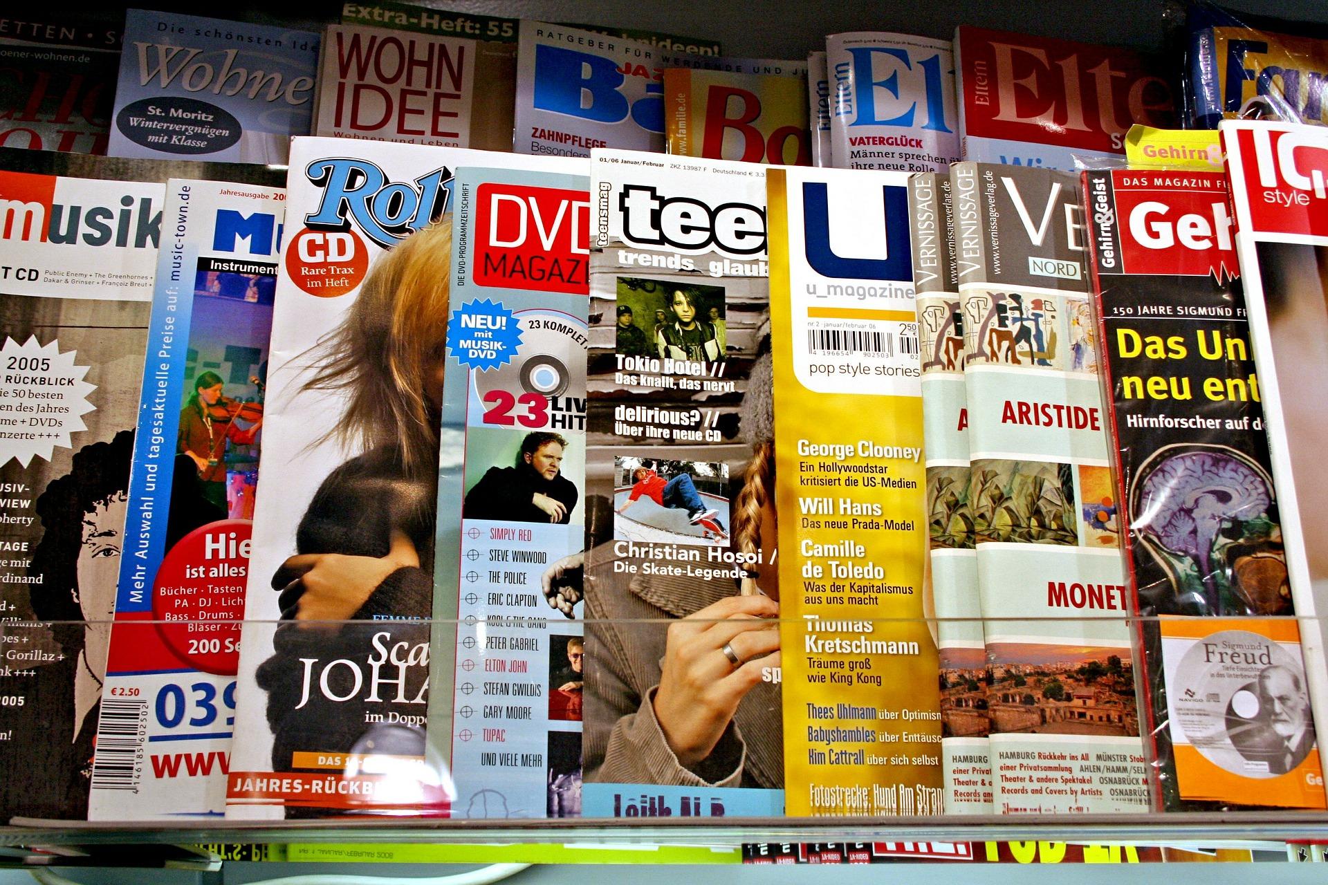 Prasa, czasopismo, magazyn