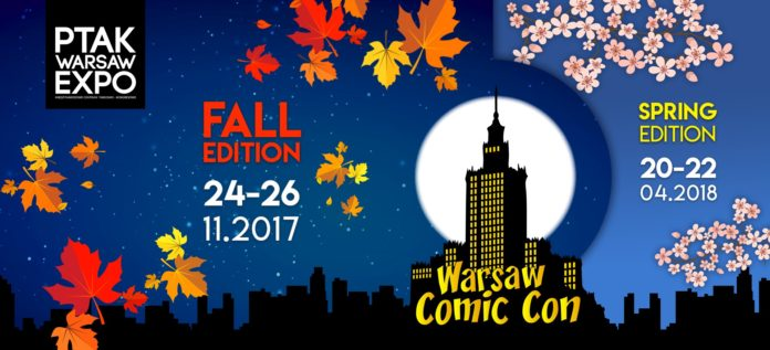 Warsaw Comic Con 2017 - Fall Edition