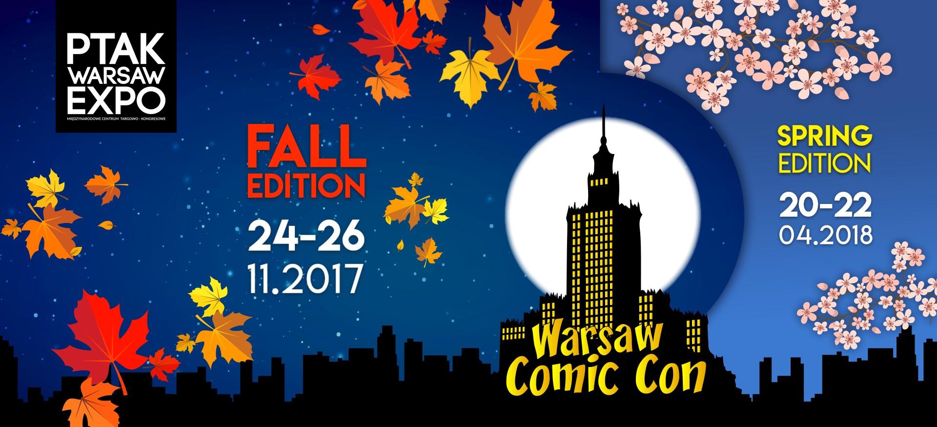 Warsaw Comic Con 2017 - Fall Edition