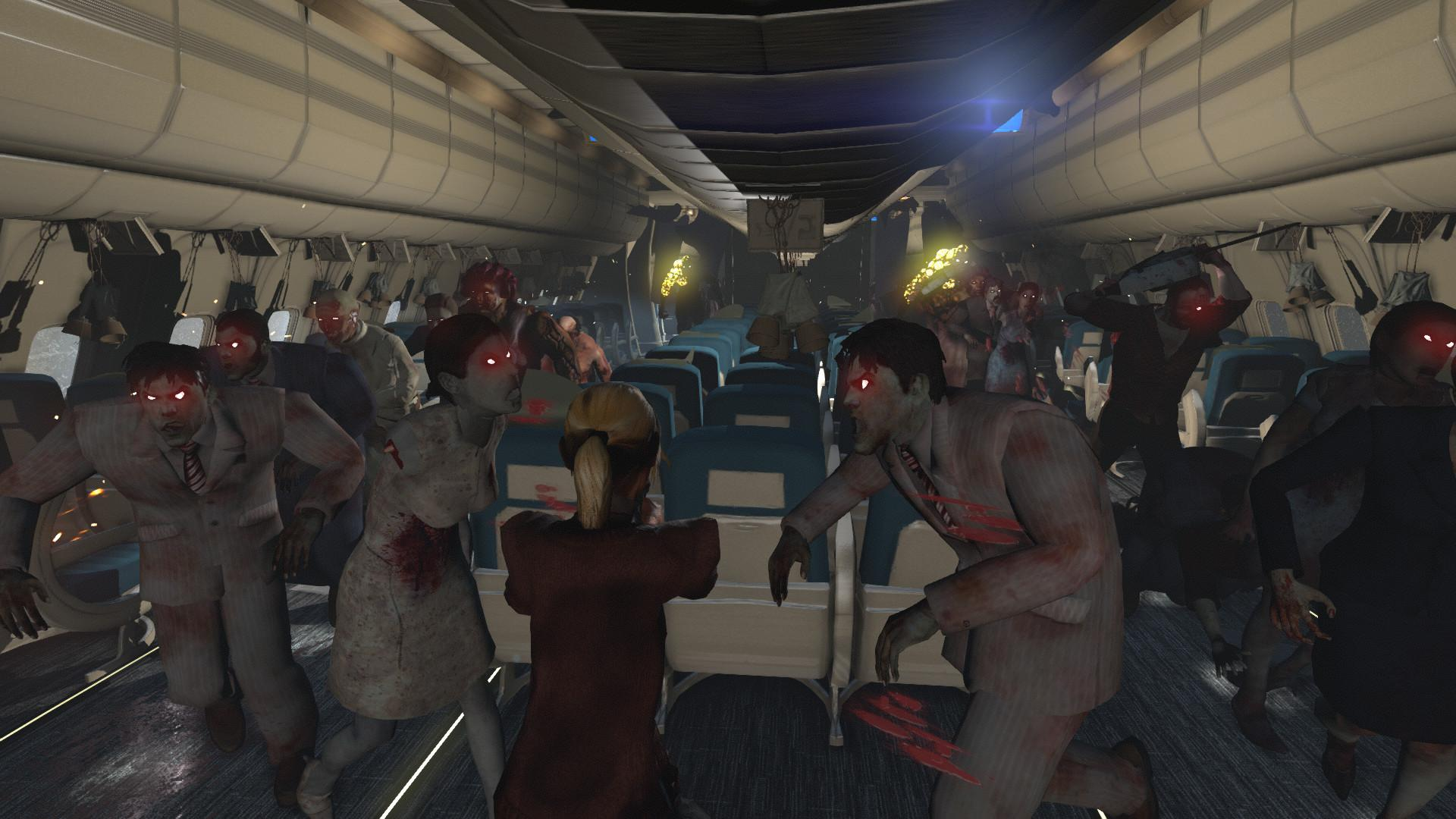 Zombies on a Plane: Resurrection Edition