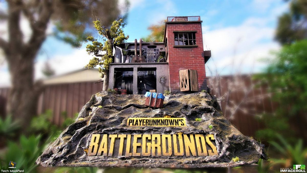 obudowa na wzór PlayerUnknown's Battlegrounds