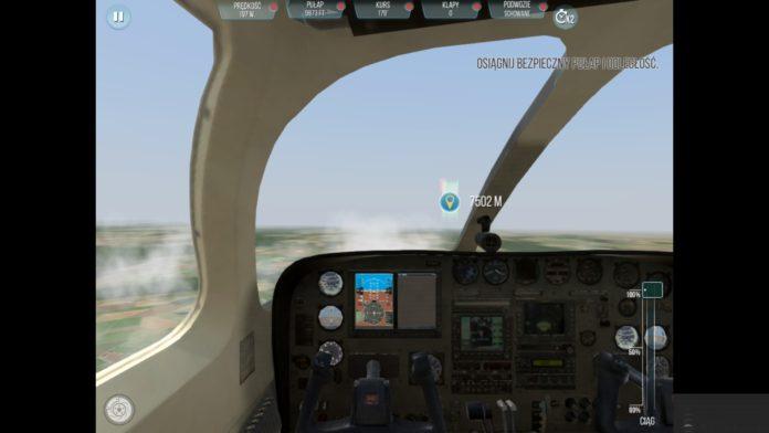 take off the flight simulator 2