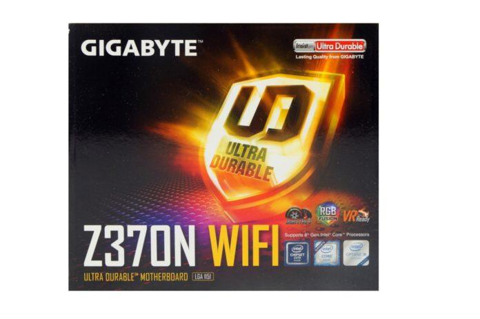 GIGABYTE Z370N WIFI