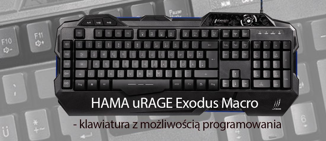 HAMA uRAGE Exodus Macro - klawiatura z możliwością programowania 1