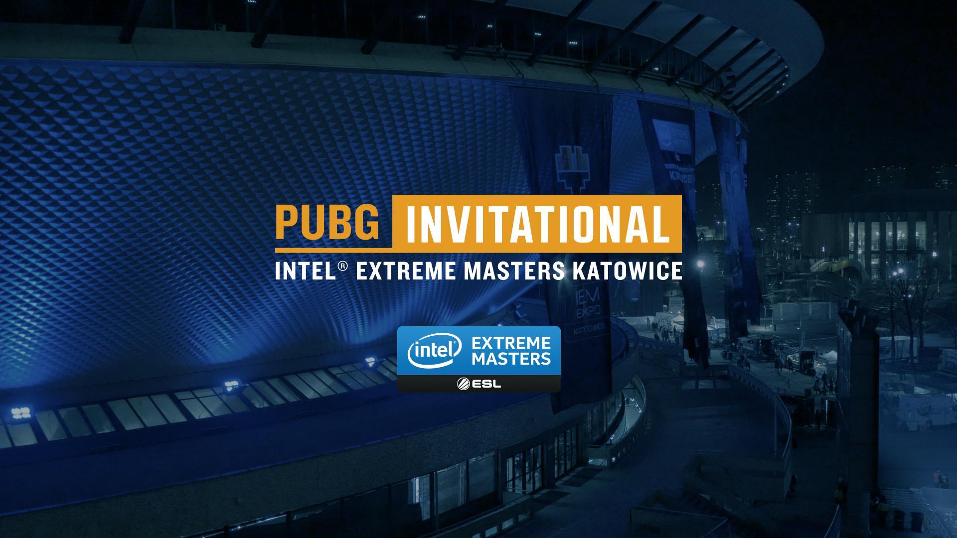 PUBG Invitational na Intel Extreme Masters Katowice 2018