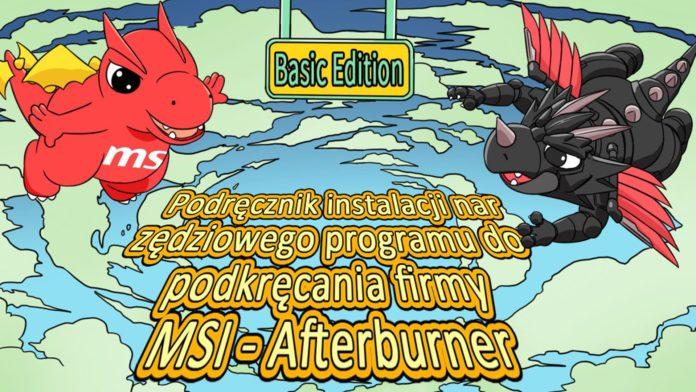 Komiks od MSI - Afterburner