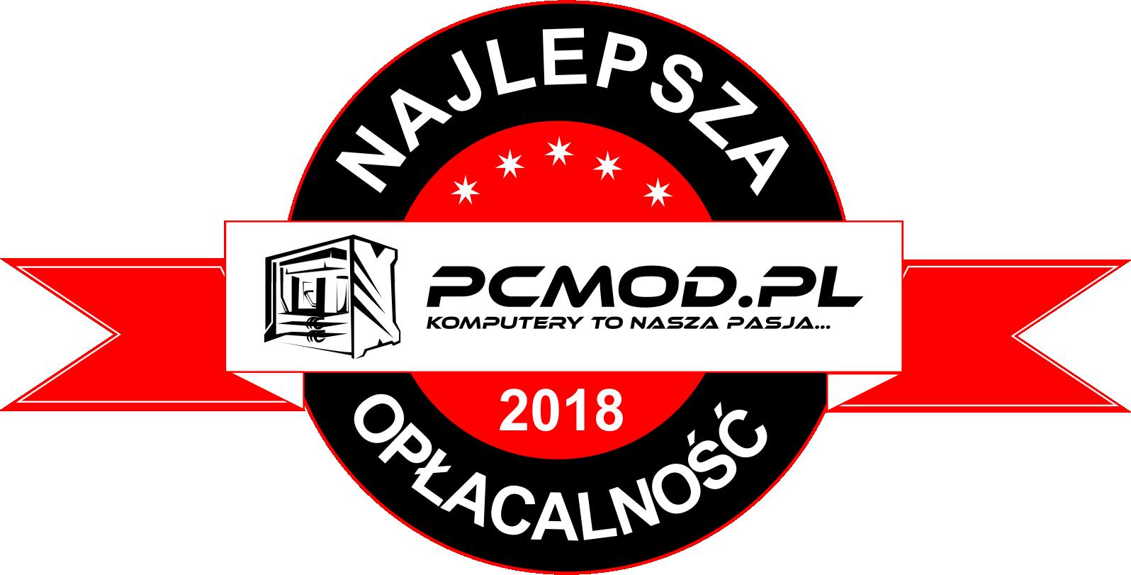 PcMod.pl - nagroda, najlepsza opłacalność
