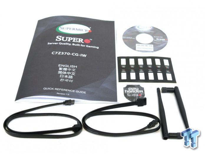 SuperMicro SuperO C7Z370-CG-IW