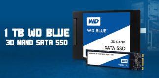 WD Blue 3D NAND SATA SSD 1 TB - logo