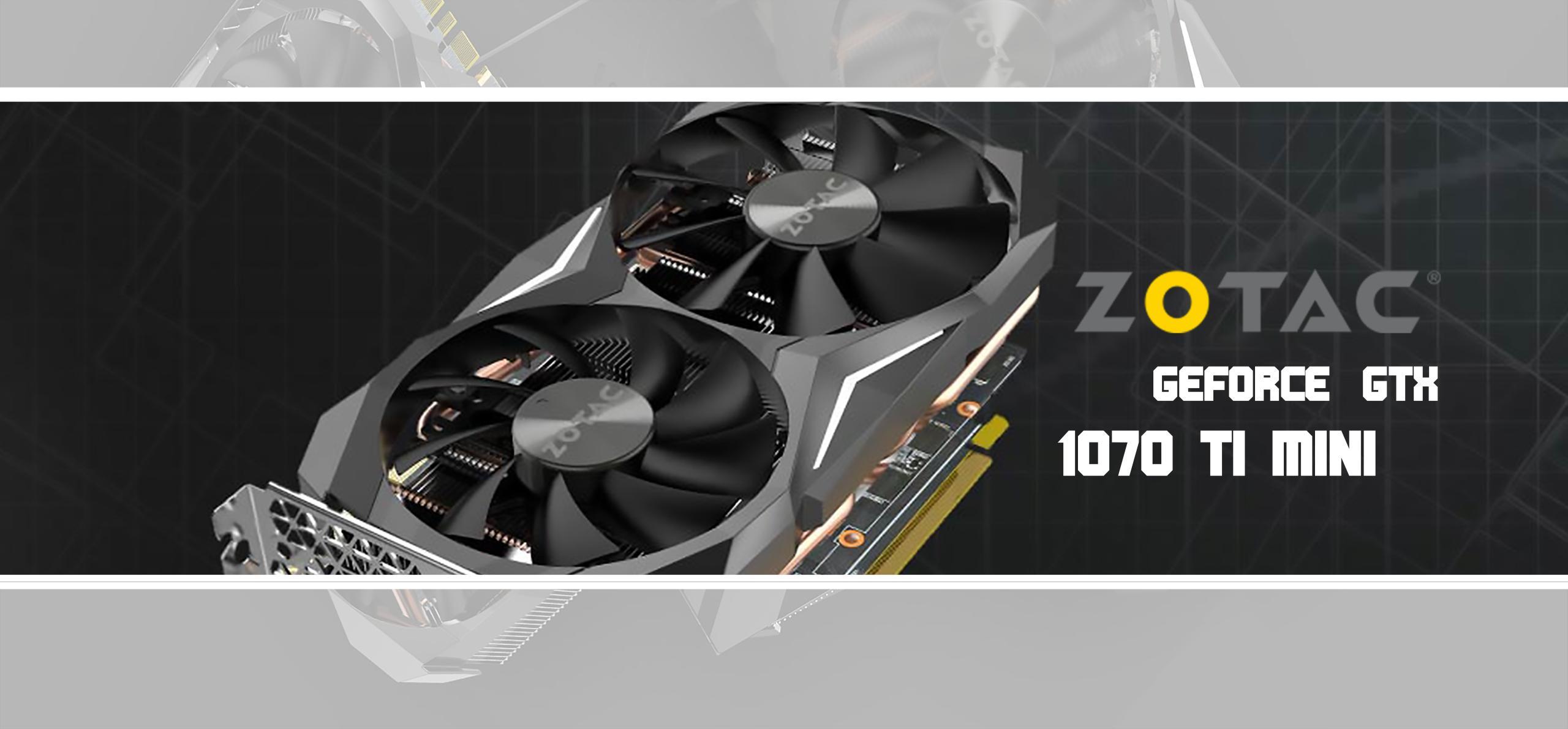 ZOTAC GeForce GTX 1070 Ti Mini - logo