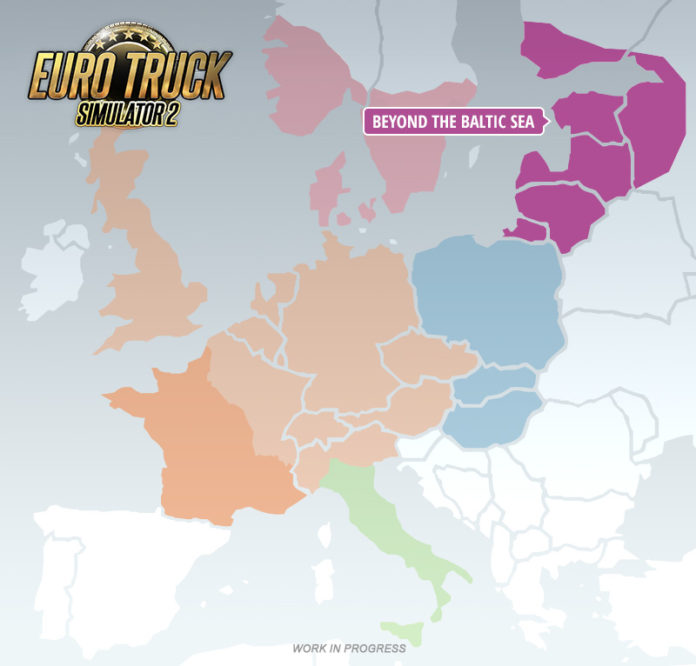 Euro Truck Simulator 2 - Beyond the Baltic Sea