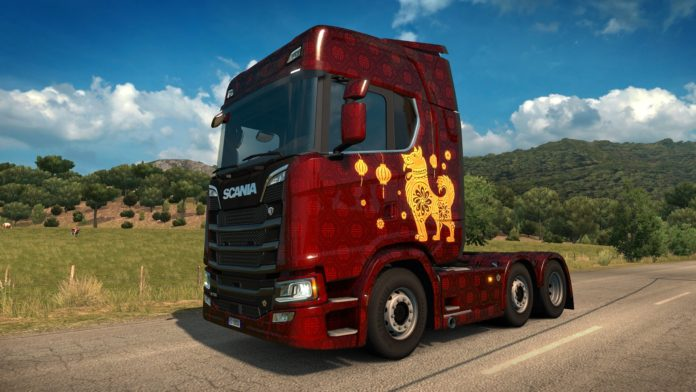 Euro Truck Simulator 2 - Chinese Paint Jobs Pack