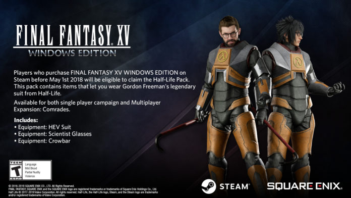 FINAL FANTASY XV WINDOWS EDITION - Half-Life Pack