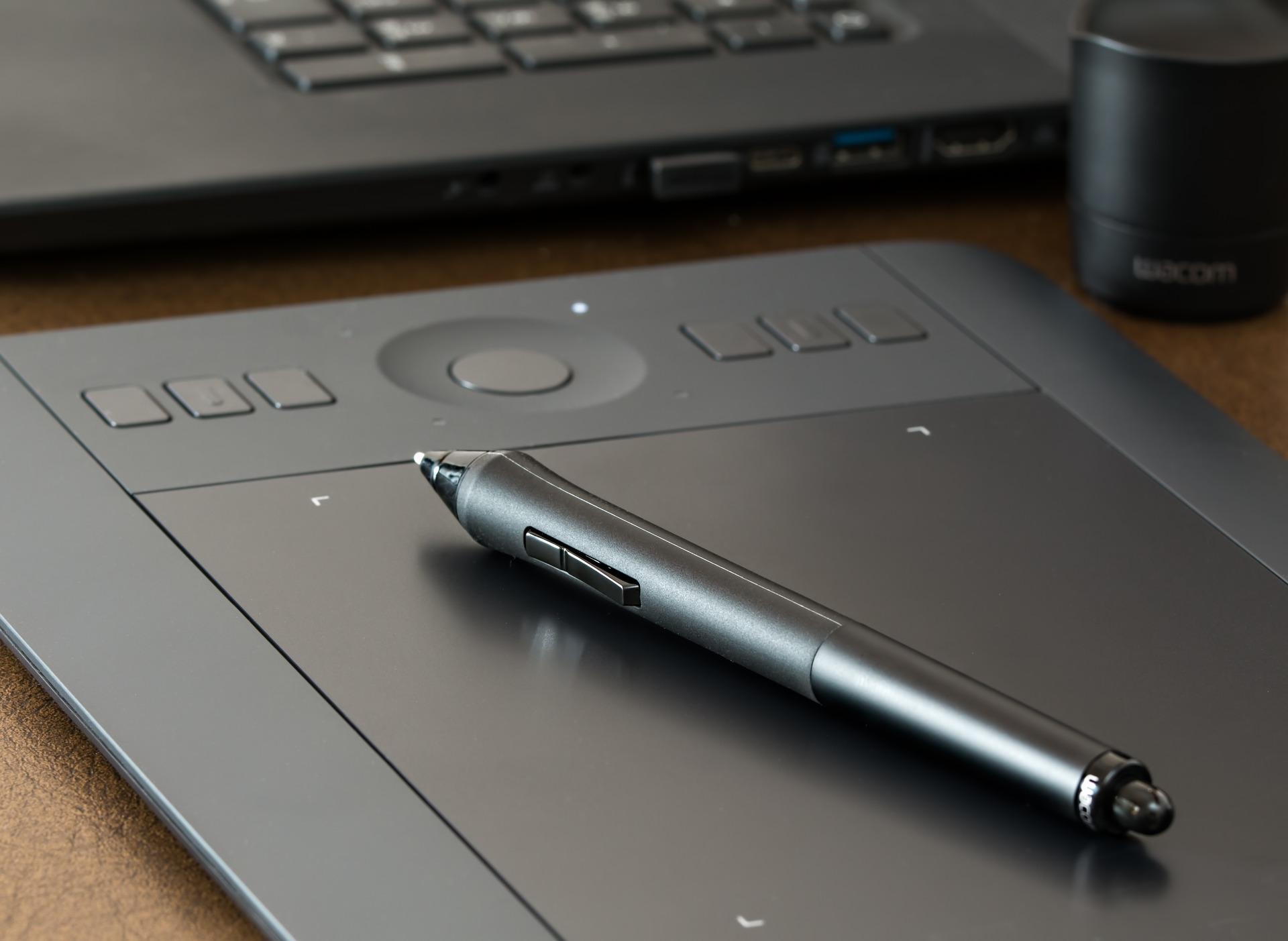 sprzęt, tablet graficzny