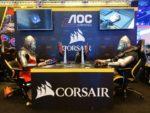 IEM Katowice 2018 - stoisko Corsair i AOC Gaming