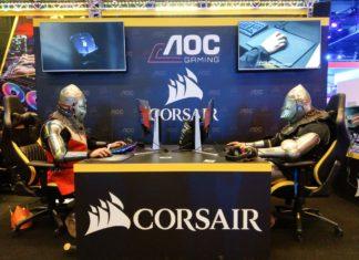 IEM Katowice 2018 - stoisko Corsair iAOC Gaming