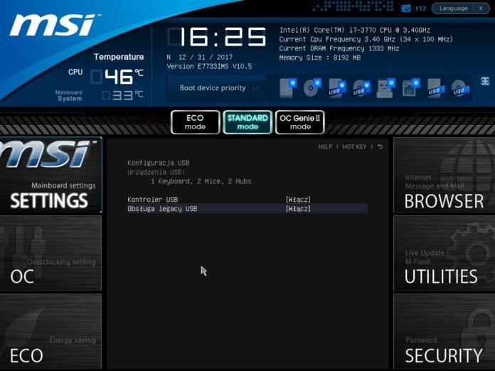 MSI Z77IA-E53 - UEFI