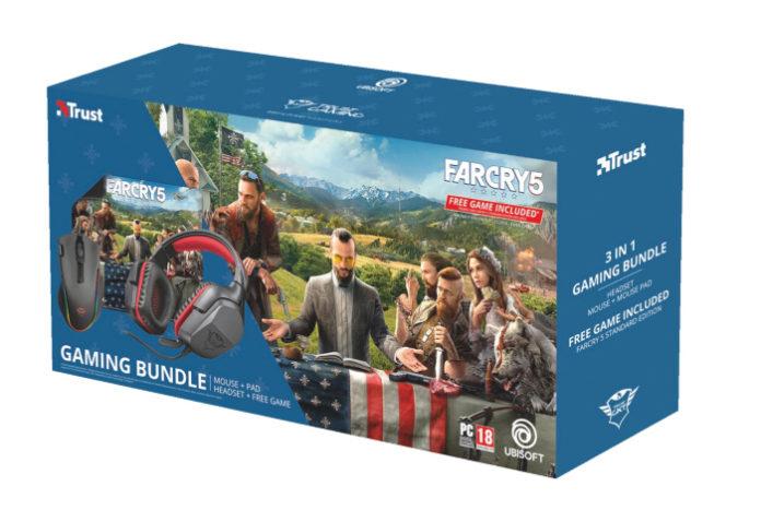Far Cry 5, Trust Gaming Bundle, Ubisoft
