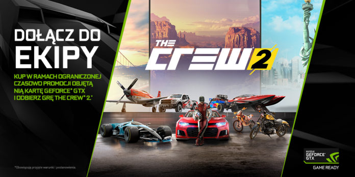 NVIDIA - dołącz do ekipy - The Crew 2