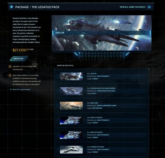 Star Citizen - Legatus Pack