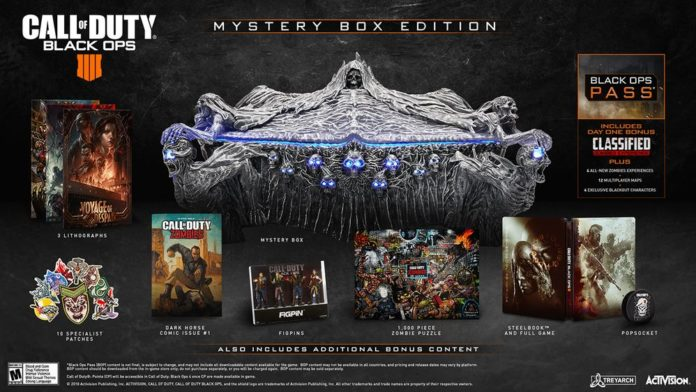 Call of Duty: Black Ops 4 Mystery Box Edition - edycja kolekcjonerska gry