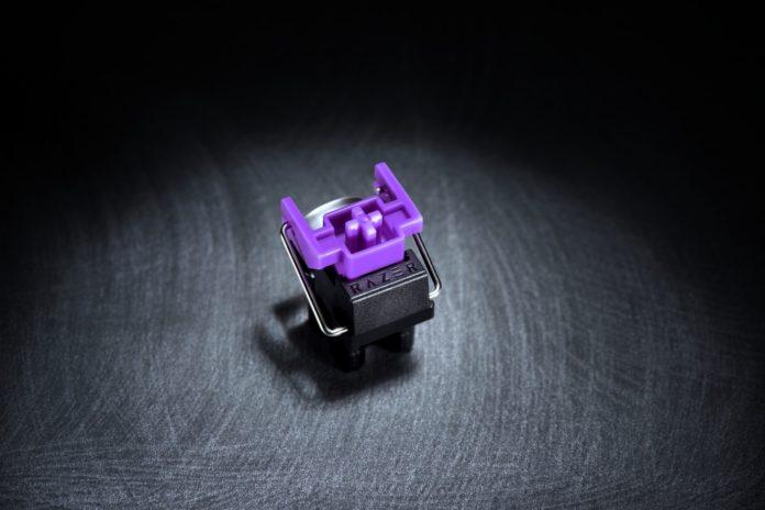 Razer - przełączniki opto-mechaniczne