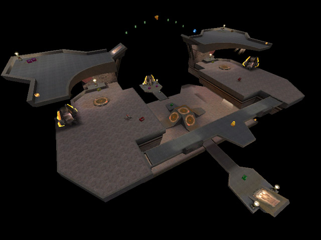 Quake Champions - powrót mapy The Longest Yard 1